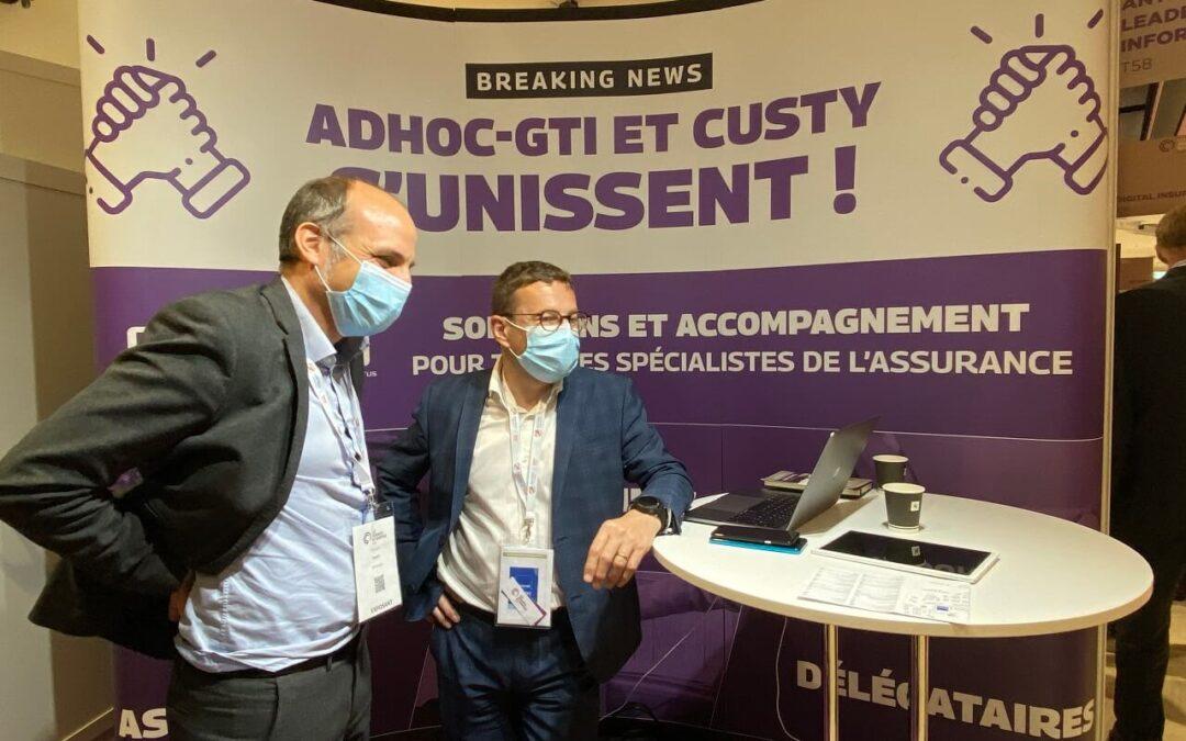 À l'occasion du Salon du Courtage à Paris, ADHOC-GTI annonce son nouveau nom : Custy France.